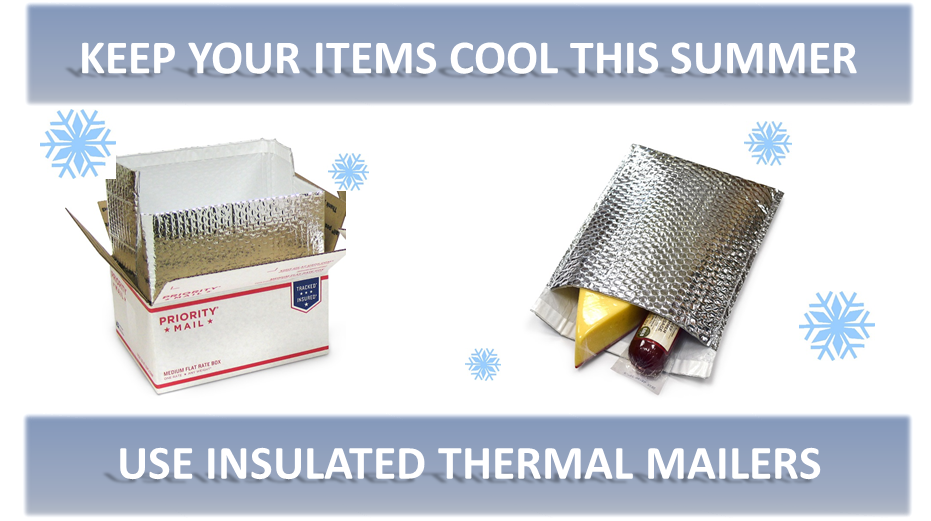 insulated thermal mailing products